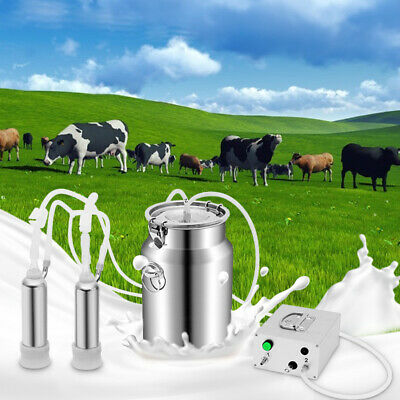 $109.99 • Buy 7L Milking Machine Upgraded Double Hole Automatically Vacuum Pulse Pump