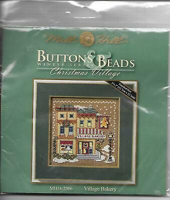 $5.99 • Buy Mill Hill Buttons & Beads Winter Series CHRISTMAS VILLAGE Needlepoint Kit NEW