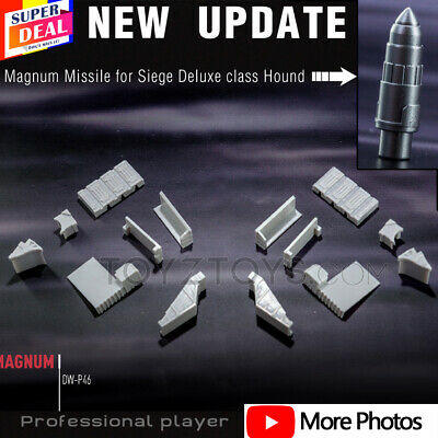 $11.99 • Buy Hound Missile + Magnum Weapon Kits For Transform Ultra Magnus -Dr.wu DW-P46