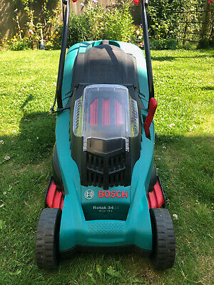£60 • Buy Bosch 36v 34 Li Rotak Lawnmower With Battery And Charger