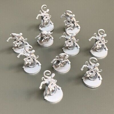 AU13.76 • Buy Lot 10 Warrior Monster Miniatures For Dungeons & Dragon D&D Figures Board Game B