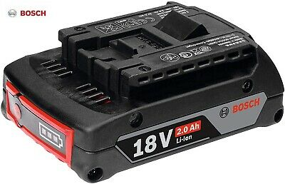 £23.99 • Buy Genuine BOSCH Professional GBA 18V 2.0Ah Cordless CoolPack Lithium-Ion Battery