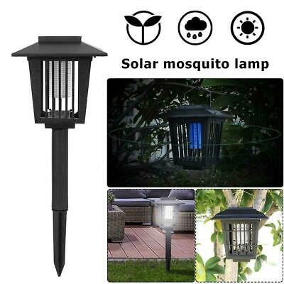 £22.12 • Buy Solar Mosquito Fly Bug Zapper Insect Killer Trap Lamp Outdoor Garden Home Lights