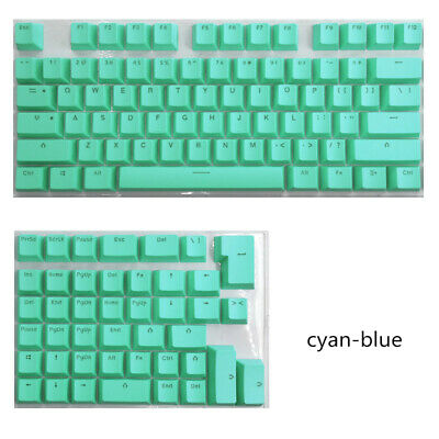 £10.21 • Buy PBT Keycaps For Mini Mechanical Keyboard For 61/64/68/71/82/84 Layout Keyboard