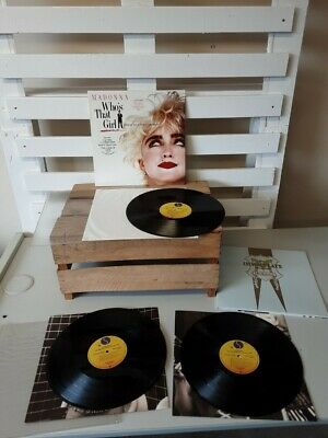£9.99 • Buy Madonna The Immaculate Collection LP & Who's That Girl LP