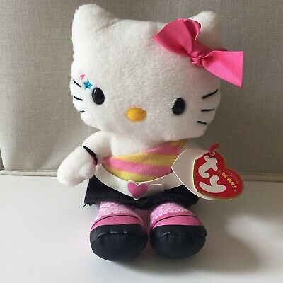 £8.95 • Buy Ty Hello Kitty Plush Disco Off The Shoulder Top Teddy Soft Toy