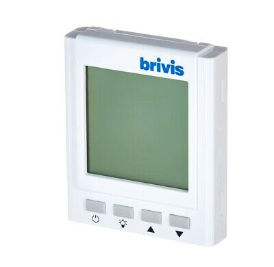 AU50 • Buy Brivis Gas Ducted Heating Digital Manual Thermostat Wall Controller