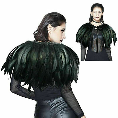 £6.98 • Buy  Feather Sewing Trimming Collar Peacock Shawls Fringe Elegant Craft