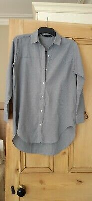 £4 • Buy Zara Basic Size M Long Shirt Style Top Ideal Maternity Wear Perfect Condition