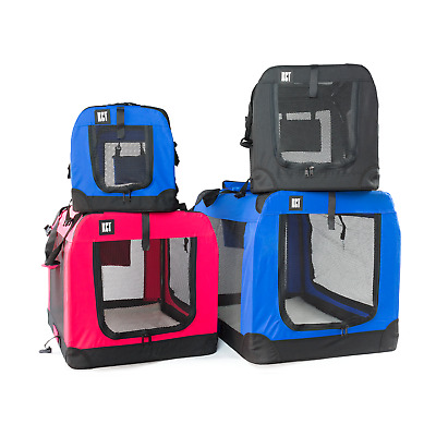 £38.49 • Buy Kct Fabric Pet Carrier Bag Portable Cat Travel Case Cage Dog Carry Bag Crate