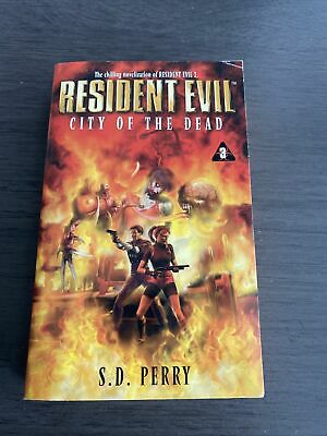 AU21.30 • Buy Resident Evil City Of The Dead #3 By S.D. Perry 1999 Paperback Capcom