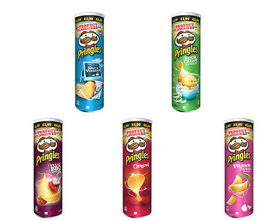 £10.99 • Buy Pringles Assorted Flavour Crisps Snack Can - Pack Of 6 X 200g (£2.99 PM)