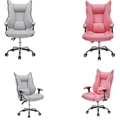 £80.99 • Buy Luxury Office Chair Swivel Recliner Gaming Computer Home Desk Chair PU Leather
