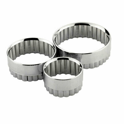 £3.80 • Buy Tala Pastry Cutters Fluted - Pack Of 3
