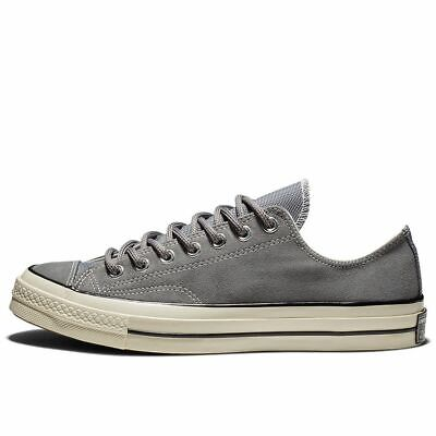£54.99 • Buy Converse Mens Chuck Taylor All Star Chuck 70 Mason Grey Suede Sneaker Trainers