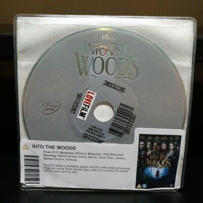 £1.45 • Buy INTO THE WOODS (DVD, 2015) DISC ONLY_  Meryl Streep, Emily Blunt