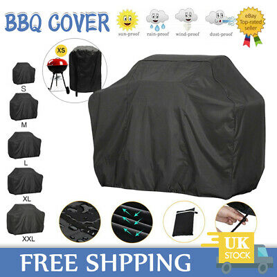 £8.79 • Buy Heavy Duty Bbq Cover Waterproof Barbecue Grill Protector Outdoor Covers Xs - Xxl