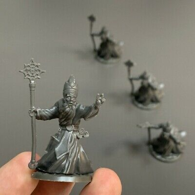 AU6.54 • Buy Lot 4 Wizard Miniature For Dungeons & Dragon D&D Figures Board Game Toy Dd Gift
