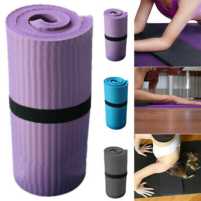 AU12.86 • Buy 15mm Thick Yoga Mat Pad Nonslip Exercise Fitness Pilate Gym Fitness Durable 60cm