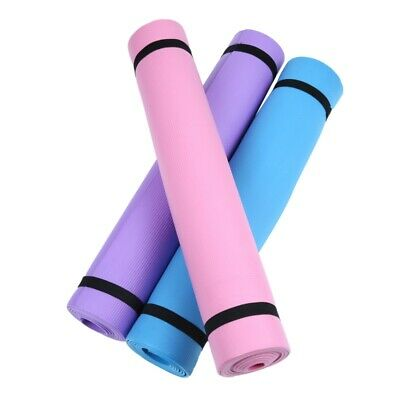 AU22.99 • Buy 4MM Thick Yoga Mat Pad EVA Nonslip Exercise Fitness Pilate Gym Soft Durable Safe