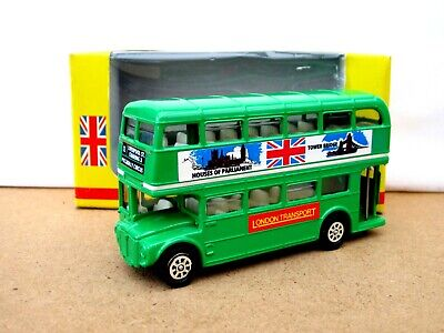 £7.99 • Buy BUDGIE / SEEROL Routemaster Bus LONDON TRANSPORT -  GREEN - Boxed