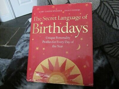 £19 • Buy THE SECRET LANGUAGE OF BIRTHDAYS BY GARY GOLDSCHNEIDER 832 Pages