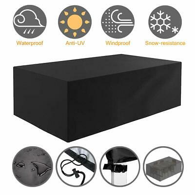 AU56.99 • Buy Waterproof Garden Furniture Table Cover Outdoor Patio Rain Snow UV Chair Shelter