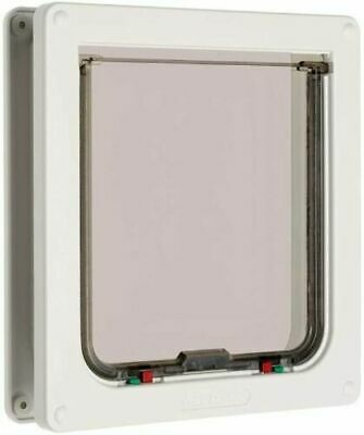£24.99 • Buy Cat Mate 4-way Locking Cat Flap   For Large Cats And Small Dogs - White