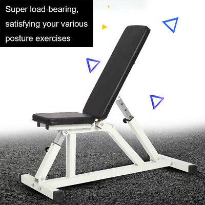 £64.99 • Buy Adjustable Folding Weight Bench Multi-functional Home Gym Exercise Fitness Bench