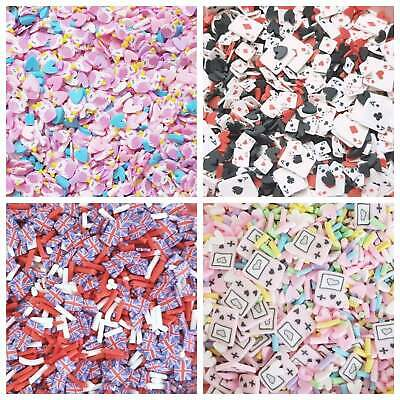 £2.60 • Buy 10g/20g Quality Kawaii Faux Mini Fimo Clay Slices Decoden Sprinkles Slime UK