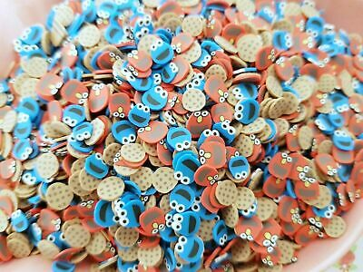 £2.60 • Buy 10g/20g Cookies Monster Faux Mini Fimo Clay Slices Decoden Sprinkles Slime Craft