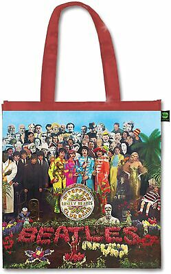 £9.42 • Buy The Beatles - Sgt Peppers Lonely Hearts Club Band Eco Tote Bag