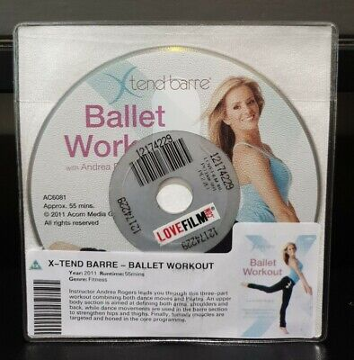£1.45 • Buy X-tend Barre - Ballet Workout DVD (2011) DISC ONLY