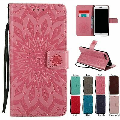 AU13.99 • Buy Magnetic Leather Wallet Case For IPhone 8 7 6S 11 12 Pro MAX XS X XR Flip Cover