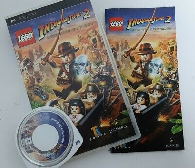 £7 • Buy LEGO Indiana Jones 2: The Adventure Continues PSP Game