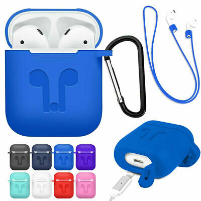 AU9.53 • Buy For AirPods 1st 2nd Generation Soft Silicone Rubber Protective AirPod Case Cover