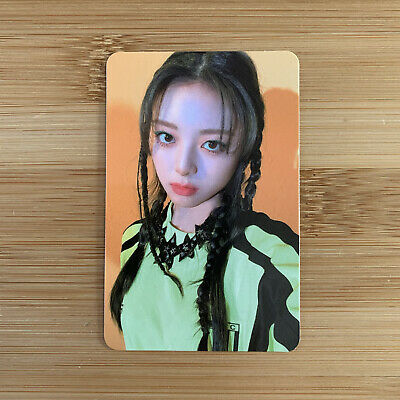 £5.95 • Buy Kpop Itzy Official Guess Who Album Mafia In The Morning Yuna Photocard
