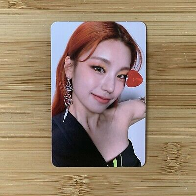 £5.95 • Buy Kpop Itzy Official Guess Who Album Mafia In The Morning Yeji Photocard
