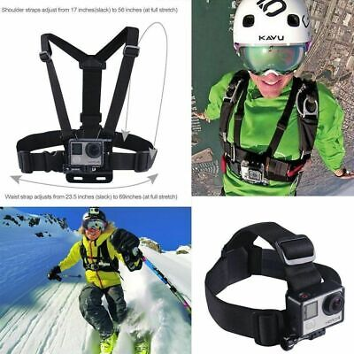 AU15.99 • Buy For Gopro Hero2 3+ 4 Chest Head Mount Rotation Wrist Hand Strap Band Accessories