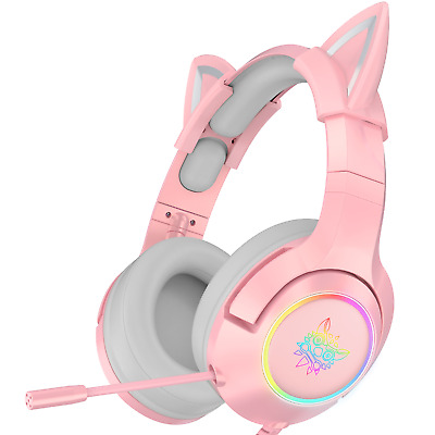 AU59 • Buy Onikuma K9 Pro Cat Ear 7.1 Gaming Headset For PC Only