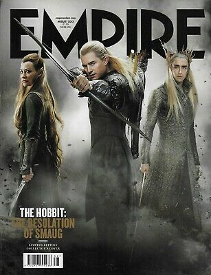 £5.99 • Buy Empire Magazine Issue 290 - August 2013 - The Hobbit 2 - Collector's Cover [r]