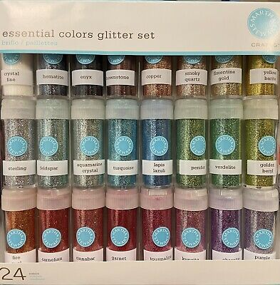 £20.47 • Buy Martha Stewart Essential Colors Glitter Set 24 Colors New Never Used