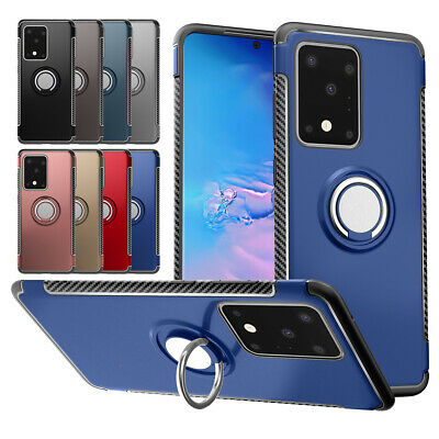 AU10.96 • Buy Magnetic Ring Holder Case For Samsung Galaxy Note 20 5G S20 S9 S8 360 Full Cover