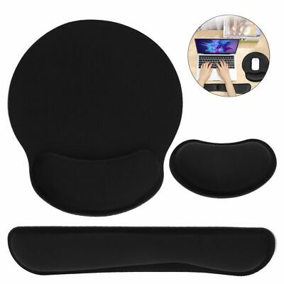 £5.65 • Buy Support Ergonomic Wrist Rest Keyboard Pad Mouse Mat Memory Foam For PC Laptop