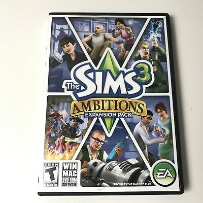 £7.25 • Buy The Sims 3 Ambitions PC Game Complete 2010 Expansion