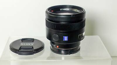 AU950 • Buy SONY 85mm F1.4 Carl Zeiss Planar Lens For A Mount + Adapter