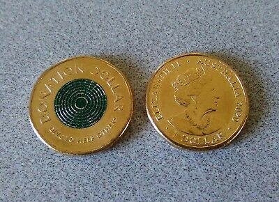AU3.10 • Buy 2020 Australian Donation Dollar - Uncirculated Condition - Lifted From Ram Roll.