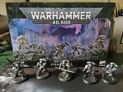 £49.99 • Buy Grey Knights Space Marines Set, Strike Squad With 9th Edition Codex
