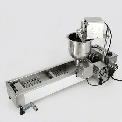 £760.23 • Buy Making Machine 3 Sets Mold Automatic Donut Maker Commercial 220V Wide Oil Tank