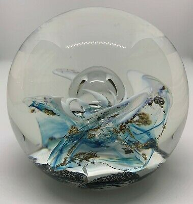 £89 • Buy Selkirk Glass Galleon Paperweight 1991 Limited 175/500Handmade In Scotland